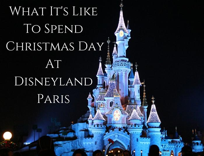Christmas Day At Disneyland Paris